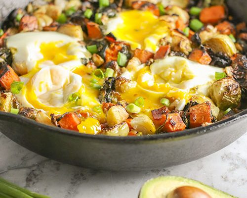 Healthy One Skillet Breakfast Hash