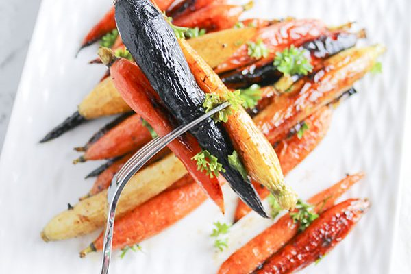 Sweet Hot Honey Carrots