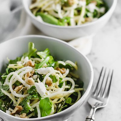 Mint, Feta, and Veggie Noodle Salad