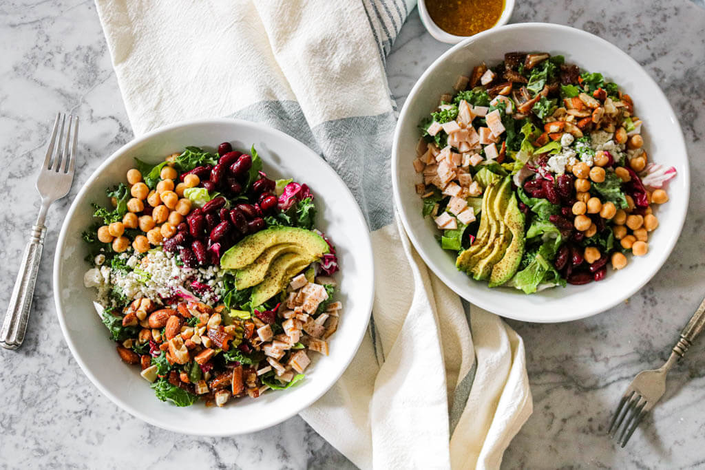 Copycat Northstar Cafe Village Salad | NOMaste Kitchen