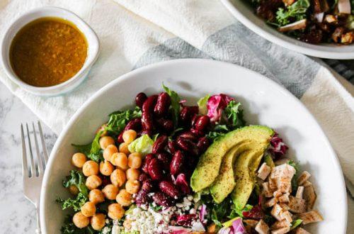 Copycat Northstar Cafe Village Salad | NOMaste Kitchen