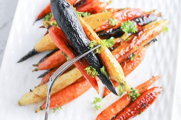 Sweet Hot Honey Carrots